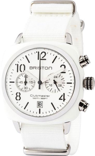 цена Мужские часы Briston 13140.SA.W.2.NW онлайн в 2017 году