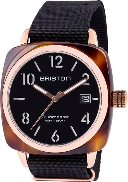 цена Мужские часы Briston 13240.PRA.T.1.NB онлайн в 2017 году