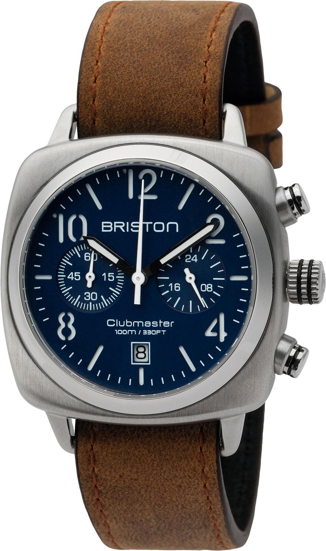 Мужские часы Briston 16140.S.C.15.LVBR часы briston часы спортивные