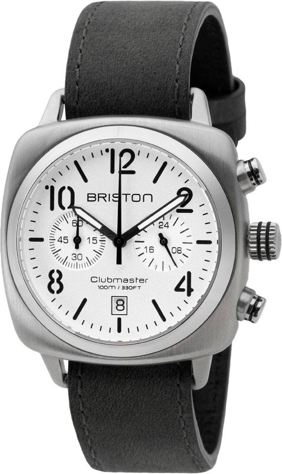 цена Мужские часы Briston 16140.S.C.2.LVB онлайн в 2017 году