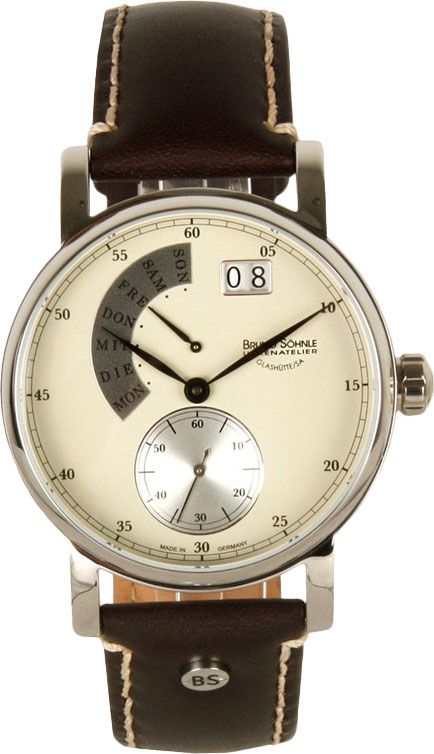 Мужские часы Bruno Sohnle 17-13073-121 bruno sohnle часы bruno sohnle 17 23109 920 коллекция sonate