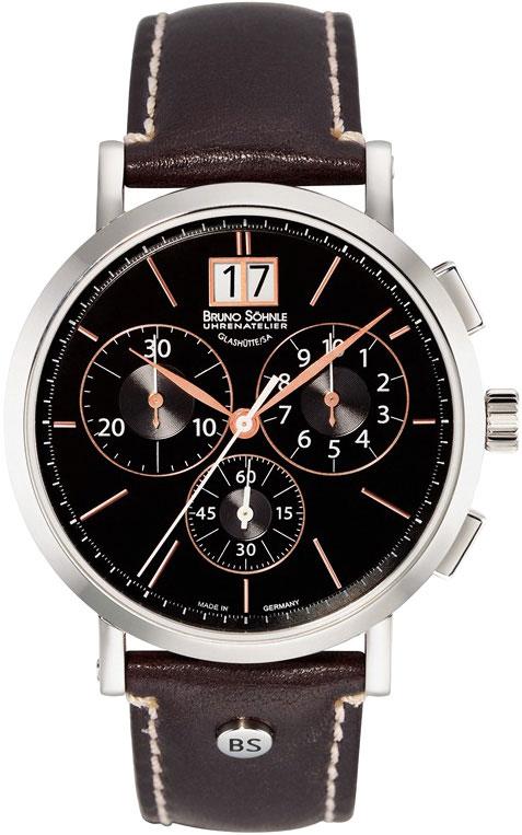 Мужские часы Bruno Sohnle 17-13112-745 bruno sohnle часы bruno sohnle 17 13112 745 коллекция lagograph