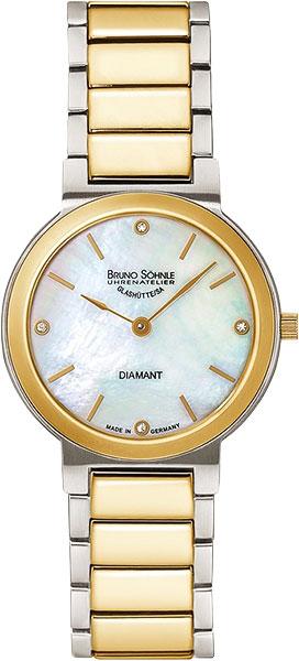 Женские часы Bruno Sohnle 17-23108-992MB женские часы sanda с натуральной кожаной погодой женские модные знаменитые наручные часы с бриллиантами