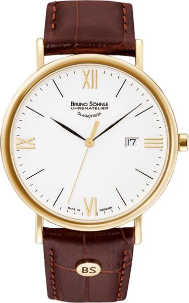 Мужские часы Bruno Sohnle 17-33085-971 bruno sohnle часы bruno sohnle 17 23109 920 коллекция sonate