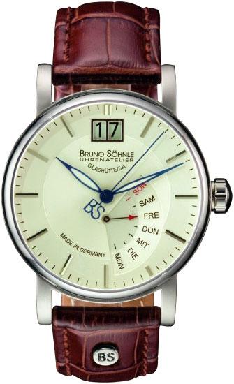 Мужские часы Bruno Sohnle 17-13073-241 bruno sohnle часы bruno sohnle 17 23109 920 коллекция sonate