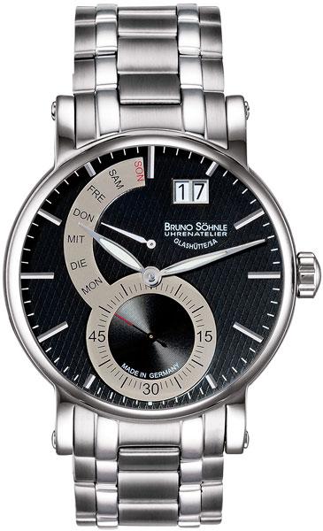 Мужские часы Bruno Sohnle 17-13073-782MB bruno sohnle часы bruno sohnle 17 23109 920 коллекция sonate