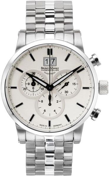 Мужские часы Bruno Sohnle 17-13084-242MB bruno sohnle часы bruno sohnle 17 23109 920 коллекция sonate