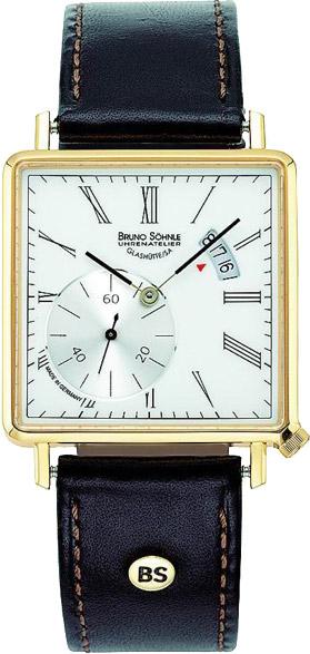 Мужские часы Bruno Sohnle 17-33072-931 bruno sohnle часы bruno sohnle 17 23109 920 коллекция sonate