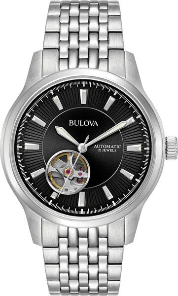 Мужские часы Bulova 96A191 bulova часы bulova 96a191 коллекция automatic