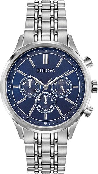 Мужские часы Bulova 96A210 мужские часы bulova 98a215