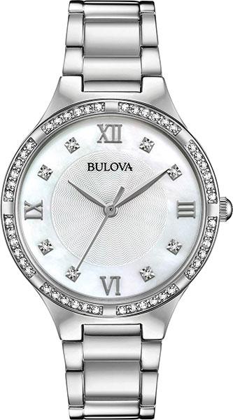 лучшая цена Женские часы Bulova 96L262