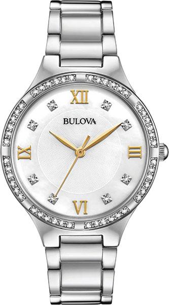 лучшая цена Женские часы Bulova 96L263