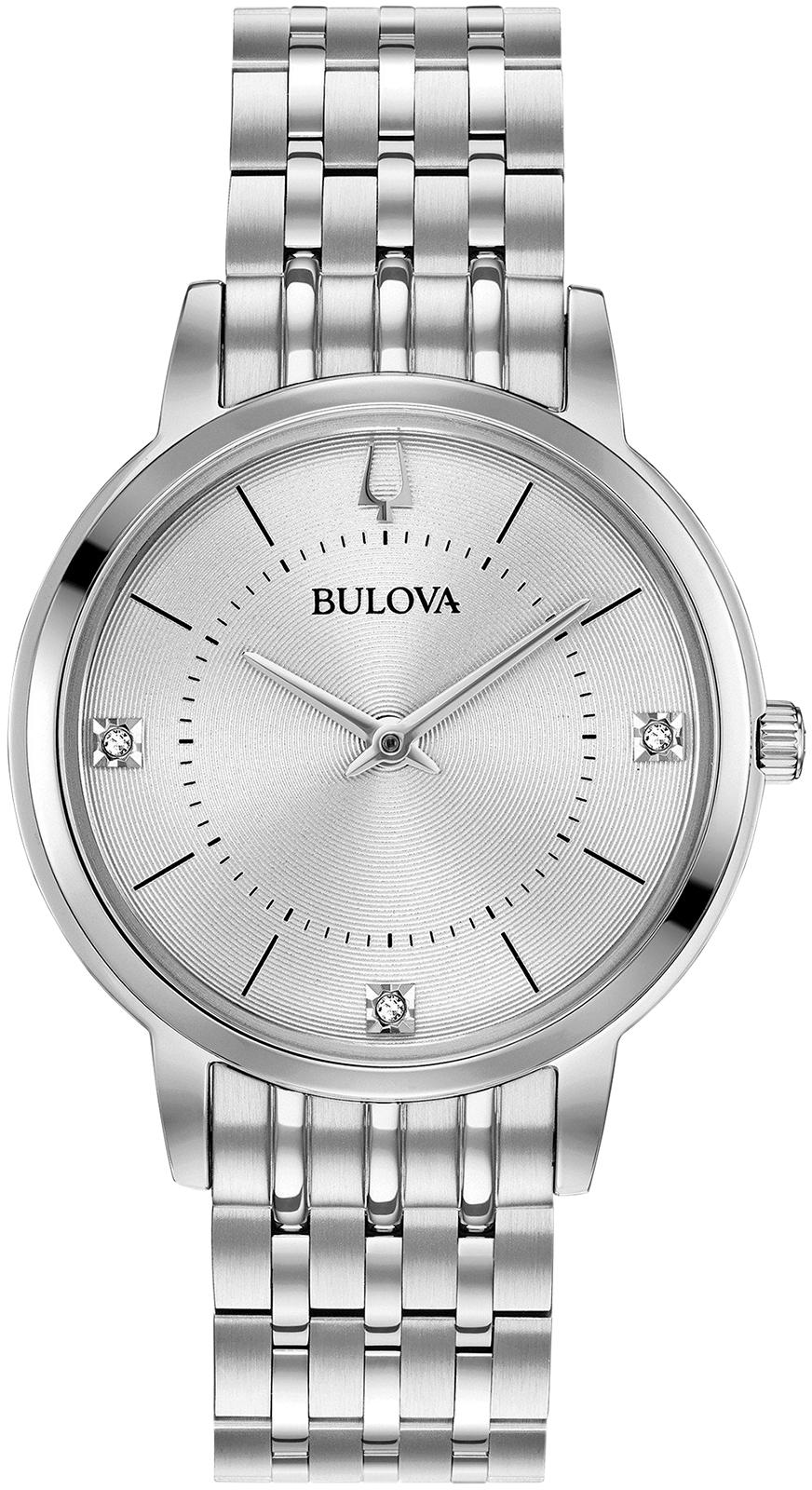 лучшая цена Женские часы Bulova 96P183