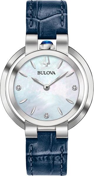 лучшая цена Женские часы Bulova 96P196