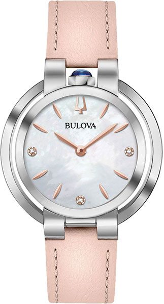 лучшая цена Женские часы Bulova 96P197