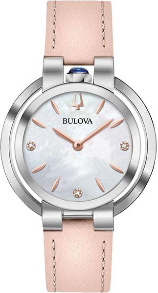 все цены на Женские часы Bulova 96P197 онлайн