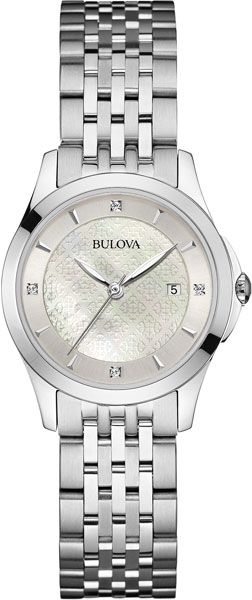 Женские часы Bulova 96S160 bulova часы bulova 96s160 коллекция diamonds