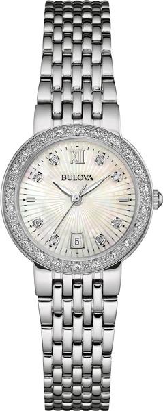 Женские часы Bulova 96W203 bulova часы bulova 96w203 коллекция diamonds