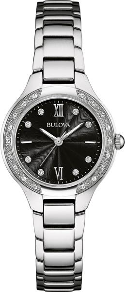 Женские часы Bulova 96W207 bulova часы bulova 96w207 коллекция diamonds