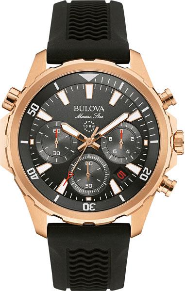 Мужские часы Bulova 97B153 bulova 98a157