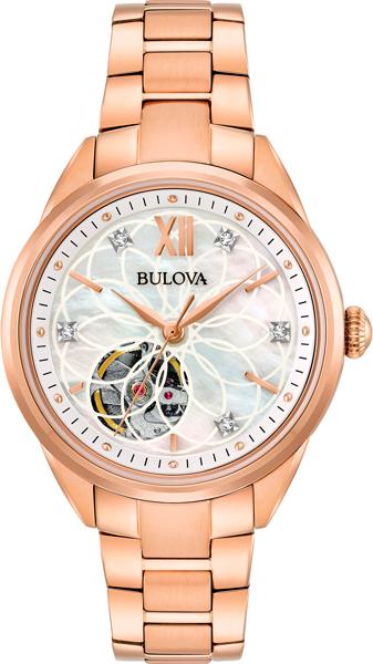 Женские часы Bulova 97P121 bulova 98a157