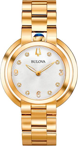 Женские часы Bulova 97P125 женские часы bulova 98s141