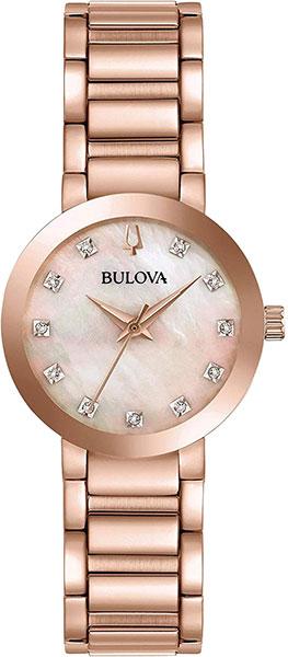 Женские часы Bulova 97P132 женские часы bulova 98s141
