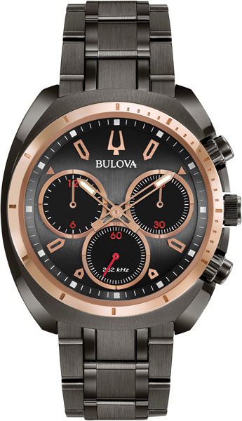 Мужские часы Bulova 98A158 bulova часы bulova 98a158 коллекция curv