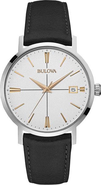 Мужские часы Bulova 98B254 bulova часы bulova 98b254 коллекция classic