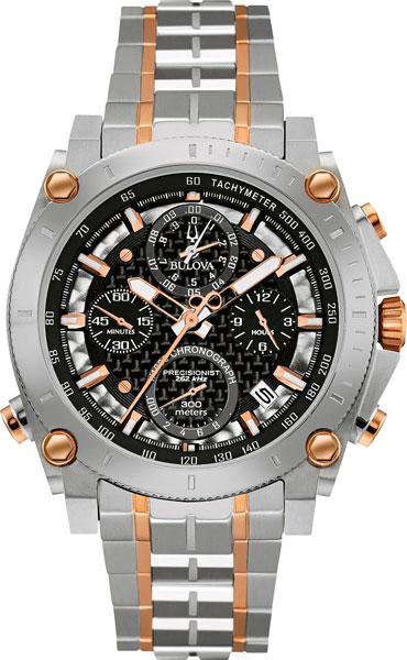 Мужские часы Bulova 98G256 bulova 98a157