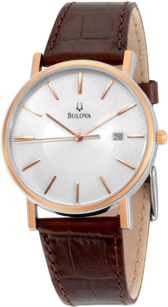 Мужские часы Bulova 98H51 bulova часы bulova 98h51 коллекция dress