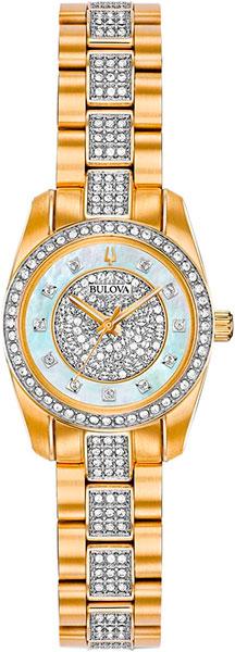 Женские часы Bulova 98L241 bulova 98a157
