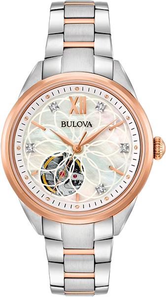 Женские часы Bulova 98P170 bulova 98a157