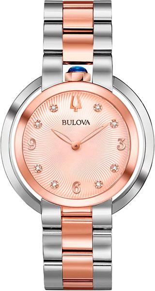 лучшая цена Женские часы Bulova 98P174