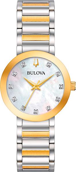 Женские часы Bulova 98P180 женские часы bulova 98s141