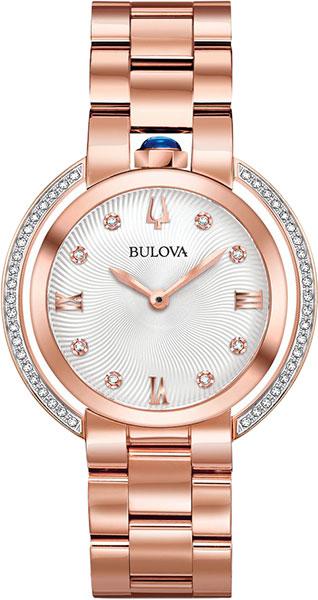 Женские часы Bulova 98R248 bulova 98a157