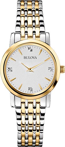 Женские часы bulova 98s115