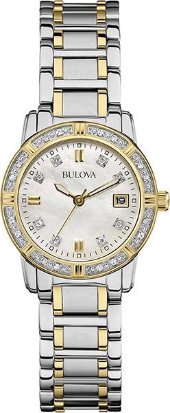 Женские часы Bulova 98W107 bulova 98a140
