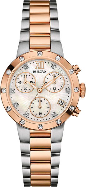 Женские часы Bulova 98W210 bulova 98a157
