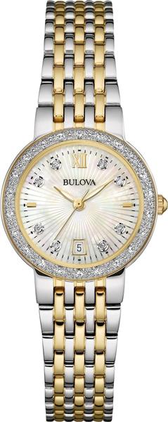 Женские часы Bulova 98W211 bulova 98a157