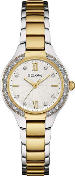 Женские часы Bulova 98W221 bulova 98a157