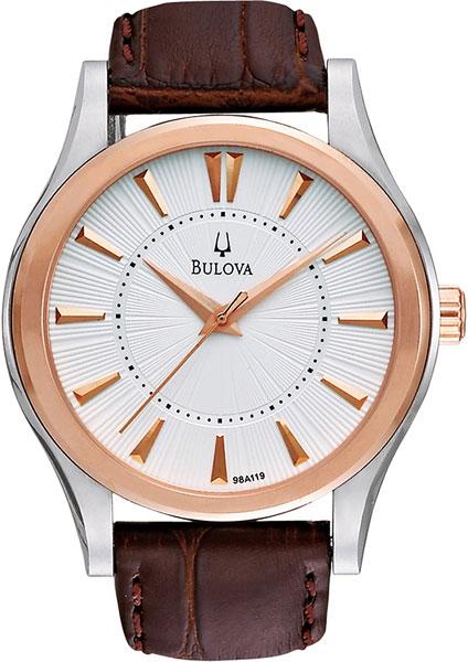 Мужские часы Bulova 98A119 мужские часы bulova 98a157