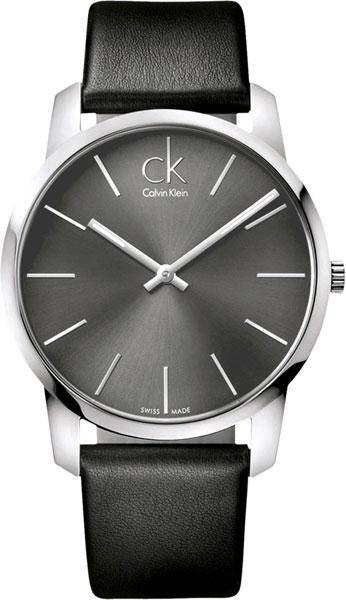 Мужские швейцарские наручные часы Calvin Klein K2G21107