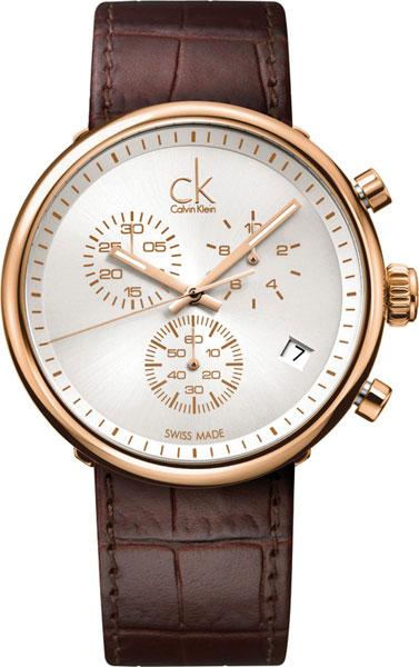 20c87b69 Фото «Швейцарские наручные часы Calvin Klein K2N286G6 с хронографом»