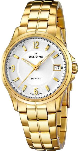 Купить Наручные часы C4535_1  Женские наручные швейцарские часы в коллекции Elegance Candino