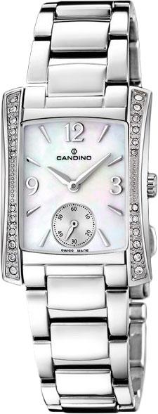 Купить Наручные часы C4554_1  Женские наручные швейцарские часы в коллекции Elegance Rectangular Candino