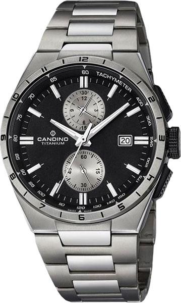 Мужские часы Candino C4603_4 candino d light c4287 4