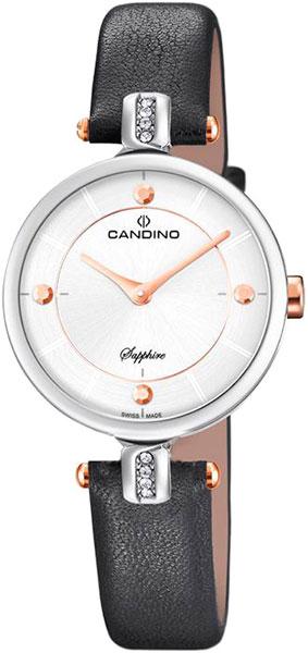 Женские часы Candino C4658_2 дизайн панков турецкий браслеты для глаз для мужчин женщины новая мода браслет женский сова кожаный браслет камень