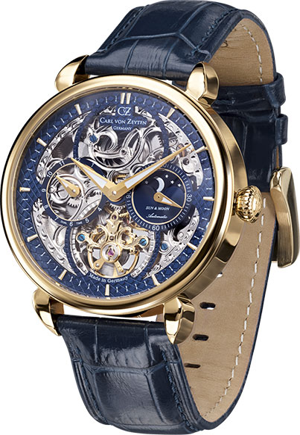 Мужские часы Carl von Zeyten CVZ0005GBLS мужские часы carl von zeyten cvz0017sgy