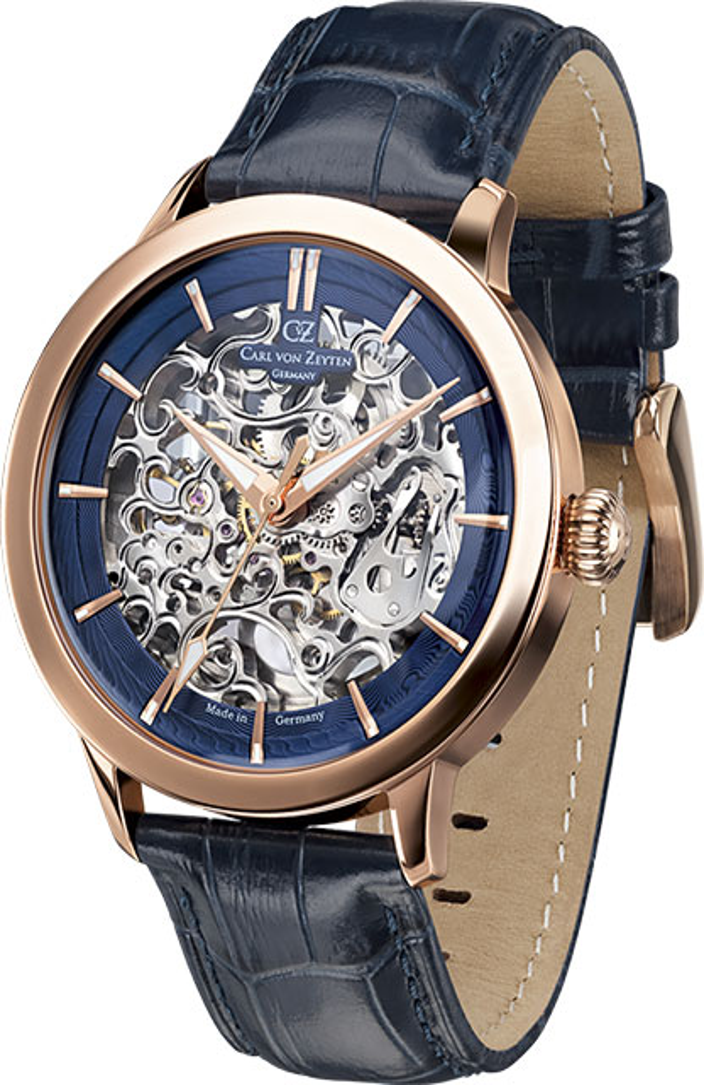 Мужские часы Carl von Zeyten CVZ0013RBL automatic watch hugo von eyck часы элитные